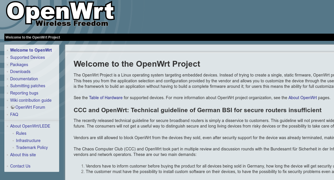 openwrt org ⋆ CiviHosting