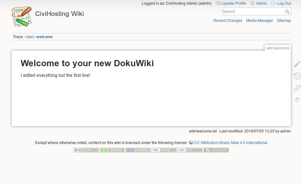 MediaWiki vs DokuWiki ⋆ CiviHosting